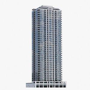 3D Vancouver Apartments V6 model