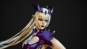 3D Ghost Demoness model