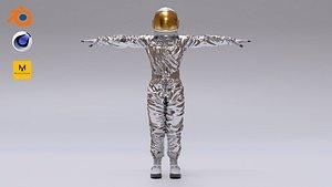 spacesuit space astronaut 3D model