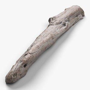 3D Driftwood 2 model