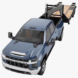 Chevrolet Silverado 3500 HD 2021 07 3D model