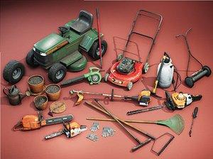 3D Toolshed Garage Props   VOL 01