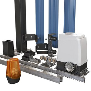 3D Sliding Gate Automation and Accessories