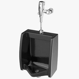 urinal male sanitary 3D model