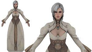 Princess Leoni 3D model