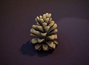 pine cone 3D model