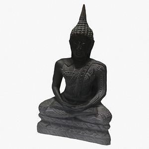 hindu statue 3D