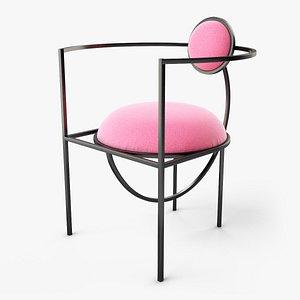 3D Lunar Chair by Bohinc model