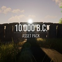 10,000 B.C. - Asset Pack - Blender and FBX