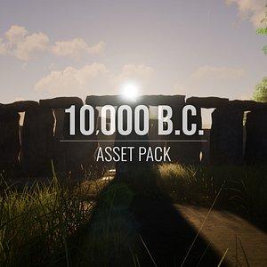 000 b c - 3D model