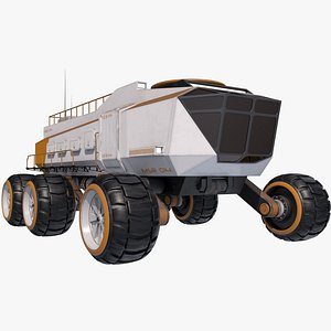 rover planetary planet 3D