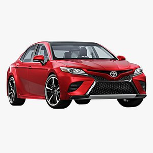 3D 2018 toyota camry