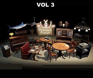 Restaurant and Dive Bar VOL3 model