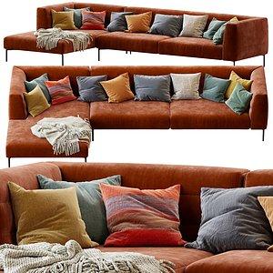 3D Sofa botero zanotta