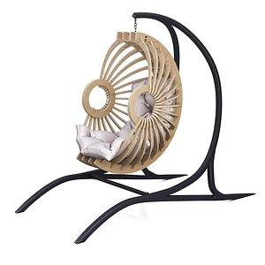 3D katit chair model
