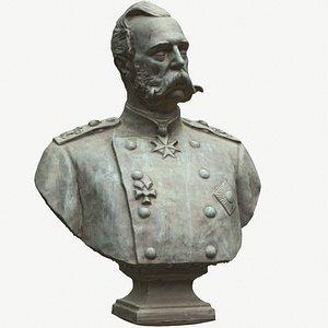 Emperor of Russia Alexander Romanov II 3D
