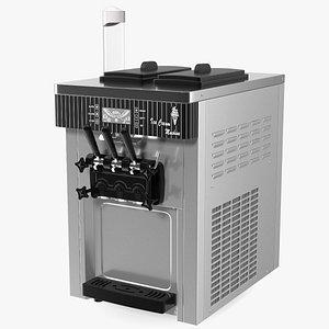VEVOR Commercial Ice Cream Machine Stainless Steel 3D model