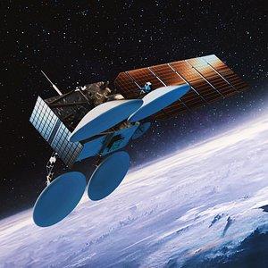 3D Weather Satellite model