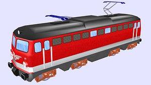 electric locomotive 1142 3D model