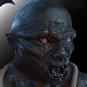 Orc 3d model 3D model