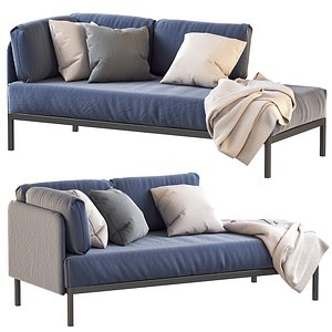 IKEA RAVAROR day-bed couch 3D model