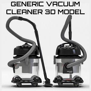 vacuum generic cleaner 3D model