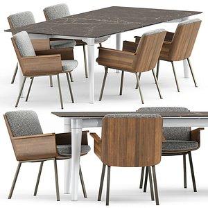 3D daiki penthouse table model