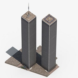 world trade center 3D model