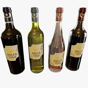 Wine Collection 3D model