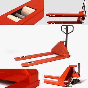 manual pneumatic loader 3D model