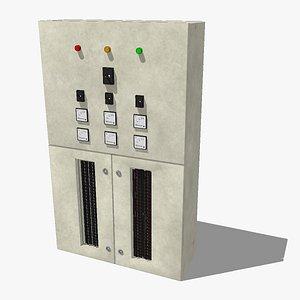 Powerbox Switchboard Unit 3D