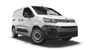 3D citroen berlingo van