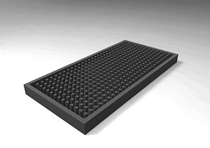 3D sanitizing bar model
