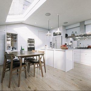 furniture room kitchen model