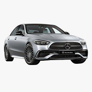 3D 2022 Mercedes-Benz C-Class