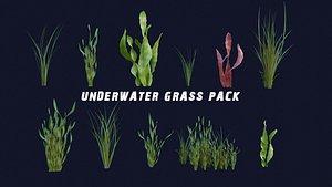 3D Underwater Grass Pack