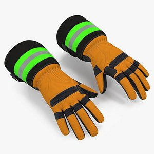 3D gloves firefighting protection