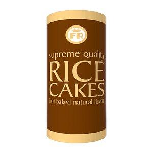 Rice Cake Jar 3D model