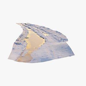 3D scan road model
