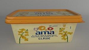 Butter Box 3D model