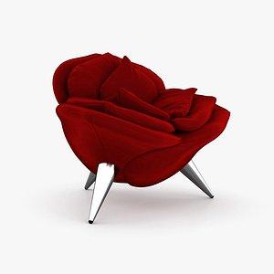 Edra Rose chair model