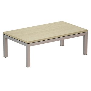 3D coffee table stainless steel