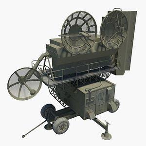 radars e 3D model