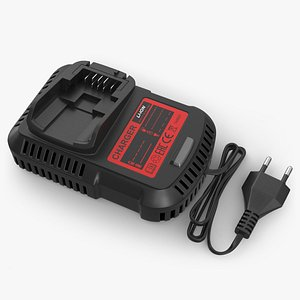 Power Tool Battery Charger 3D model