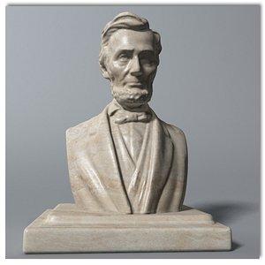 Abraham Lincoln Bust model