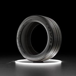 Car tire TOYO PROXES RR 3D
