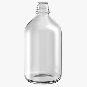 3D laboratory bottle big 01