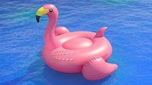 3D Swimline giant flamingo