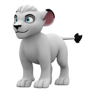 Kimba Cub 3D model
