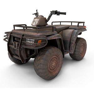 ATV Quad Bike 3D model